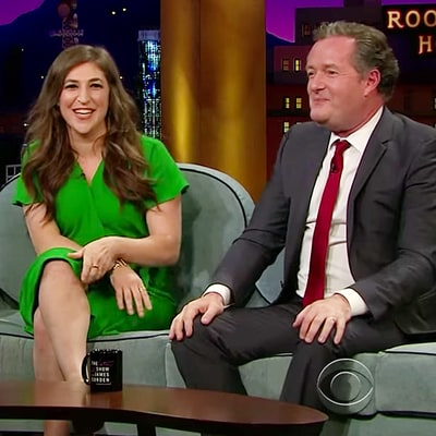 Mayim Bialik Flashes Piers Morgan After Susan Sarandon's #Cleavagegate Controversy: Watch the Funny Moment!