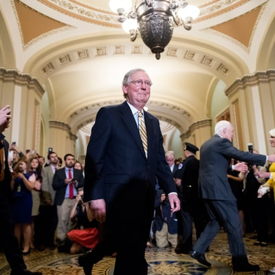 With John McCain's Return to the Senate, GOP Health Care Effort Barrels On