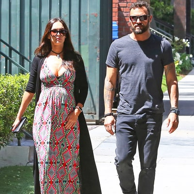 Pregnant Megan Fox and Brian Austin Green Are 'Still Figuring Things Out,' Rethinking Divorce