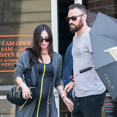 Megan Fox Showcases Growing Baby Bump on Lunch Date With Brian Austin Green