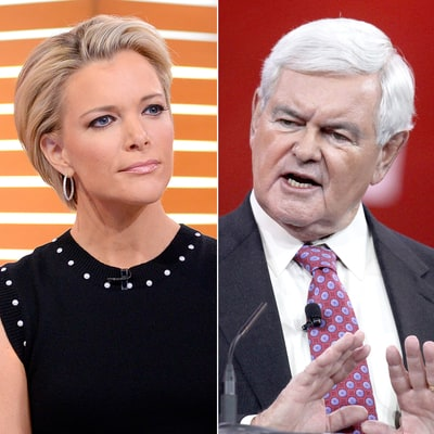 Newt Gingrich Tells Megyn Kelly She's 'Fascinated With Sex' in Awkward Exchange — Watch Her Reaction