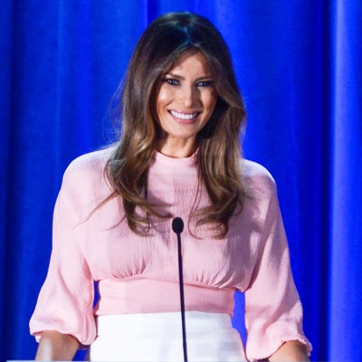 Melania Trump Considered Trading in Her Long Hair for a First-Lady Bob