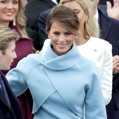 Melania Trump's Hometown in Slovenia Celebrates First Lady Following Inauguration