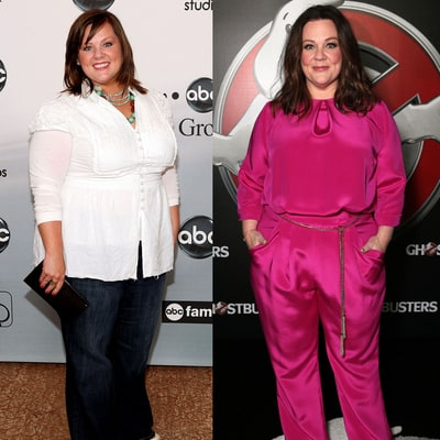 Melissa McCarthy's Body Evolution