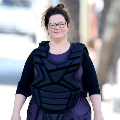 Melissa McCarthy Glows Without Makeup on 'Ghostbusters' Set