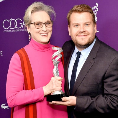 James Corden Jokes About the First Time He Met 'Complete Bitch' Meryl Streep