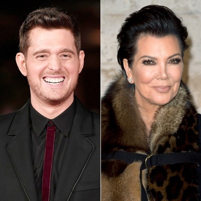 Michael Buble Says Kris Jenner Confronted Him Over a Kim Kardashian Joke He Made in 2011