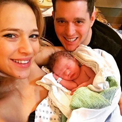 Michael Buble and Wife Luisana Welcome Their Second Child — See the Sweet Family Photo