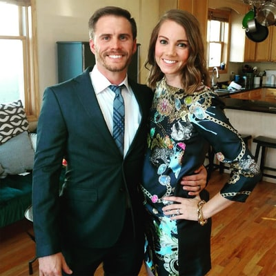 Bachelorette's Michael Stagliano Is Expecting a Baby Boy With Wife Emily Tuchscherer