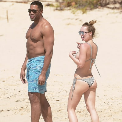 Shirtless Michael Strahan Gets Cozy With Bikini-Clad Girlfriend Kayla Quick on Vacation: See the Pics