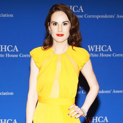 Downton Abbey's Michelle Dockery Makes First Red Carpet Appearance Since Fiancé's Death