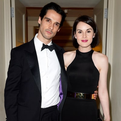 Michelle Dockery Says at Late Fiance John Dineen's Funeral: He Was 'My King, My Hero'