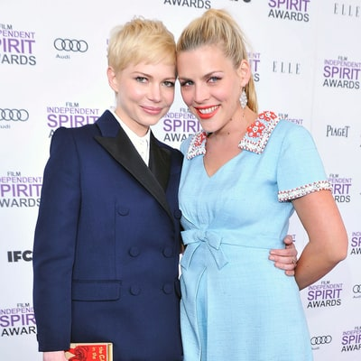 Michelle Williams and Busy Philipps' Best BFF Moments on the Red Carpet