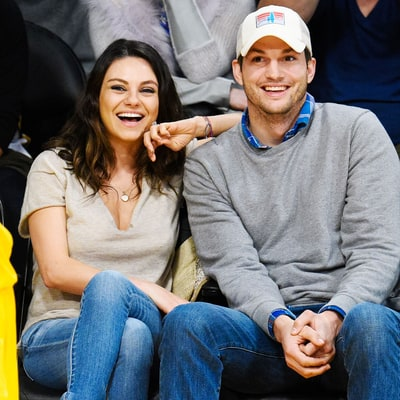 Ashton Kutcher May Have Just Revealed That He and Mila Kunis Are Having a Baby Boy