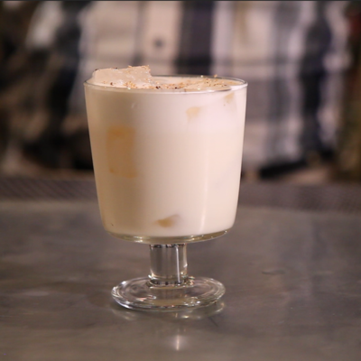 30-Second Cocktails: Bourbon Milk Punch