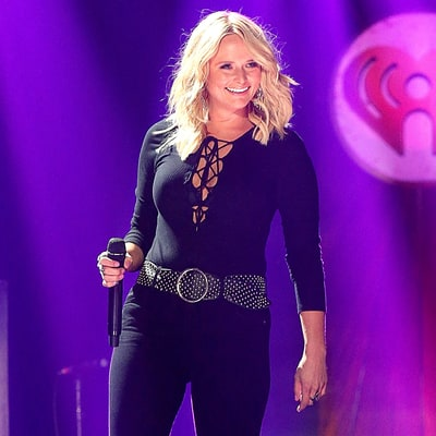 Miranda Lambert Smolders, Exposes Bra in Lace-Up Shirt at iHeartCountry Festival 2016