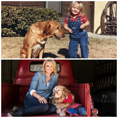Miranda Lambert Proves She's All About Dogs and Denim in the Most Adorable #TBT