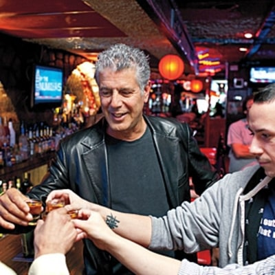 A Drunken Afternoon With Anthony Bourdain