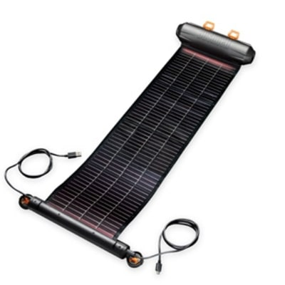 A Solar Charger With Flair