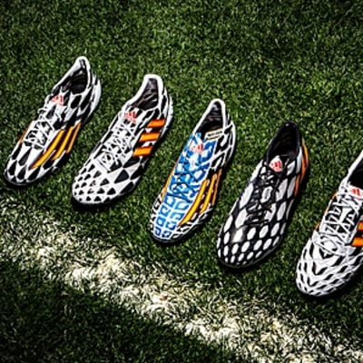Adidas' Aggressive World Cup Cleat