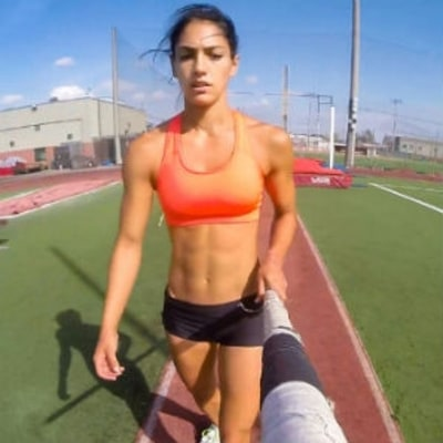 See What Pole Vaulting Is Really Like With Allison Stokke