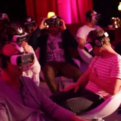 Inside the World's First VR Movie Theater