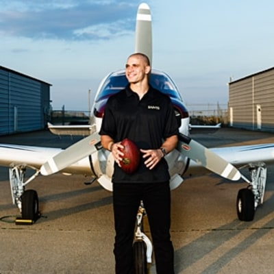Jimmy Graham, an NFL Star Takes Off