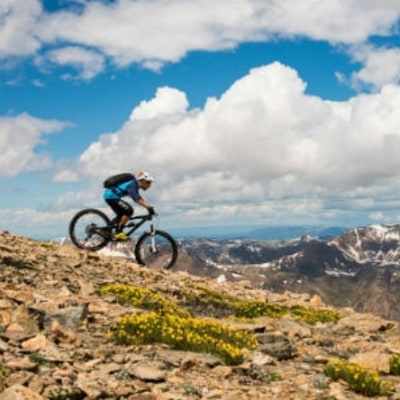 What It Takes to Bike All of Colorado's Legal 14ers