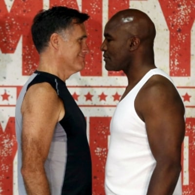Can Mitt Romney Take Evander Holyfield?