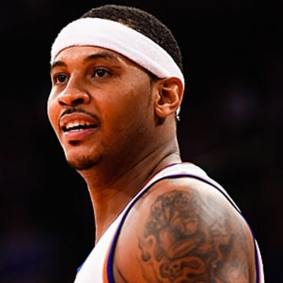 Carmelo Anthony Talks Business