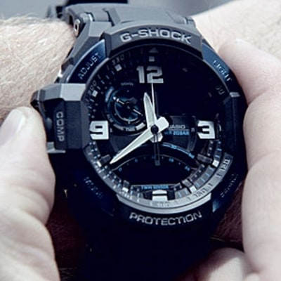 G-Shock's Gravitymaster: A Watch Fit for the Danger Zone