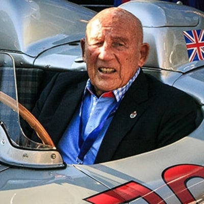 Catching Up with Auto Racing Legend Sir Stirling Moss