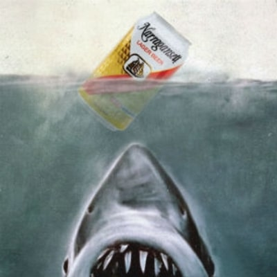 Celebrate the 40th Anniversary of 'Jaws' With Retro Narragansett Cans