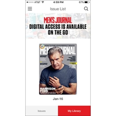 Check Out the New Men's Journal Magazine App!