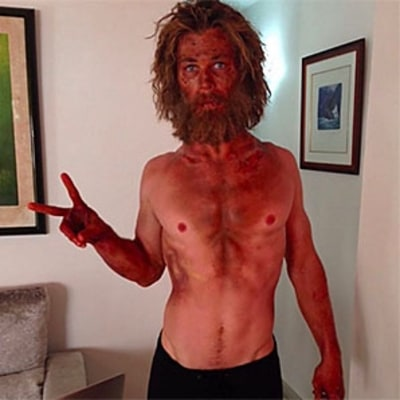 Chris Hemsworth Demonstrates How Not to Lose Weight