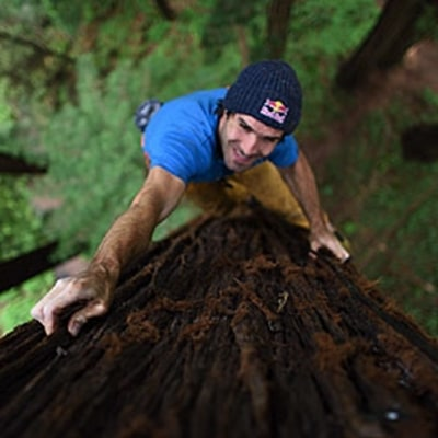 Why Legendary Rock Climber Chris Sharma Is Scaling Redwoods
