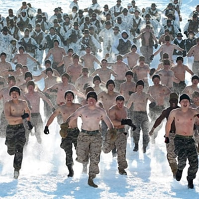 Winter Training With U.S. Marines in South Korea