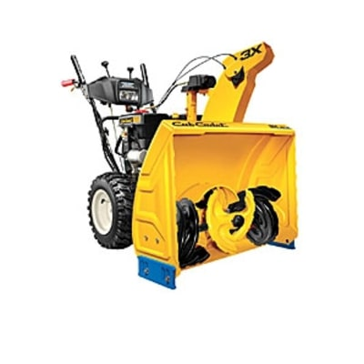 Cub Cadet 3X HD Three-Stage Snow Thrower: Snow Cleanup Tools