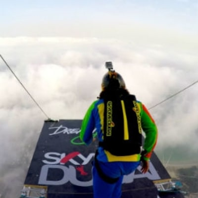 Watch BASE Jumpers Take Over One of the World's Tallest Buildings