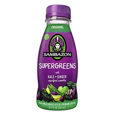 Sambazon Supergreens, the Best To-Go Shake Ever