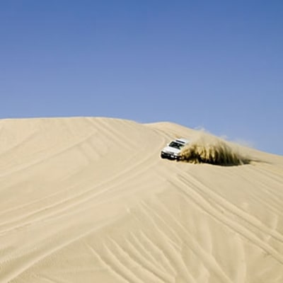 Dune Bashing Outside Doha