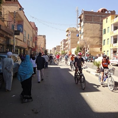 Egypt By Boat and Bike