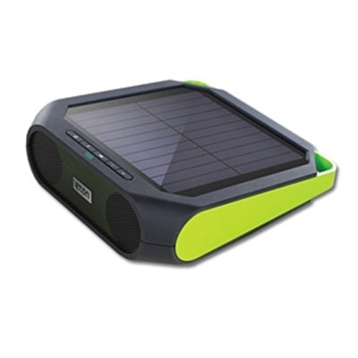 The Rugged Solar Speaker