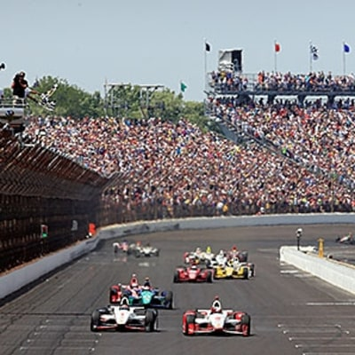 For $60, You Can Now Lap the Speedway in an IndyCar