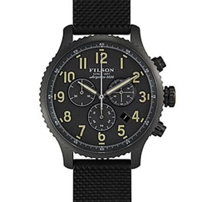 Filson and Shinola Collaborate on the Perfect Field Watch