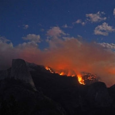 America Is Burning: Forest Fire Forces Half Dome Evacuation