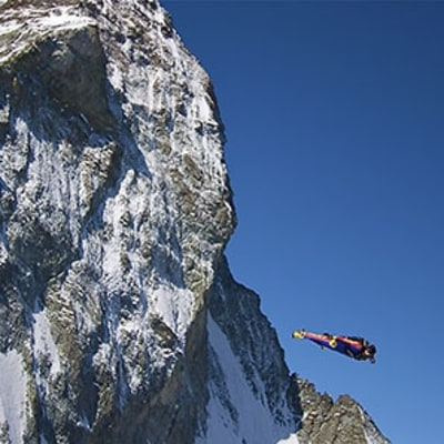 First Video from Everest Wingsuit Attempt
