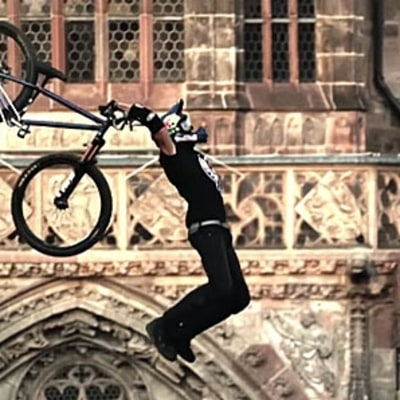 Watch a Mountain Biker Land a Gravity-Defying