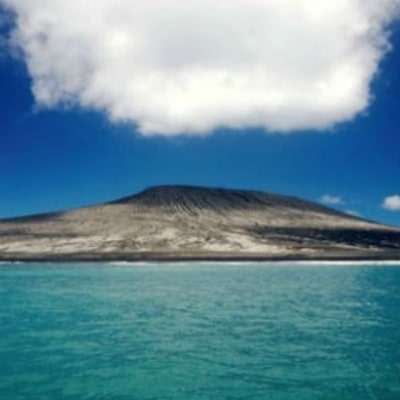 First Images of a New Island in the Pacific Ocean