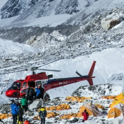 Footage from Base Camp, the Day After: Disaster on Everest